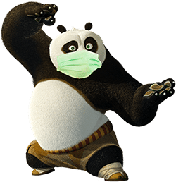 panda masque 1